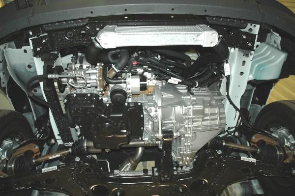 Защита картера двигателя на форд транзит