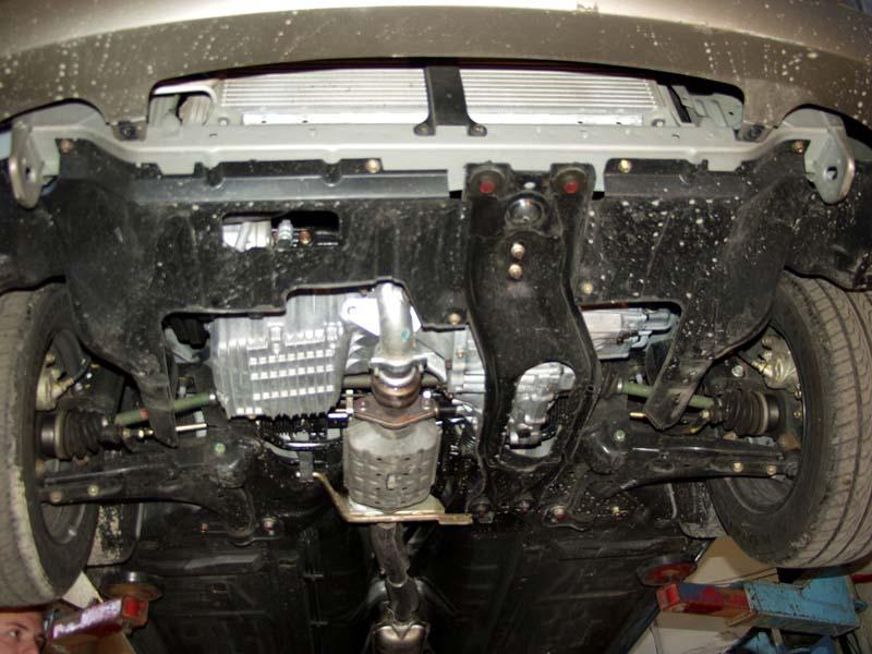 защита двигателя киа спектра фото