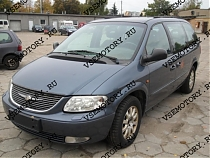 Защита картера и КПП CHRYSLER Voyager IV (Town Country)