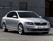 Skoda Oktavia (little) на пыльник