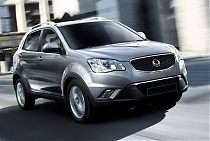 Защита КПП и РК SSANG YONG Actyon Sport
